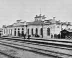 first train station in Krasnoyarsk