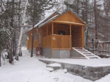 Russian dacha stay - winter