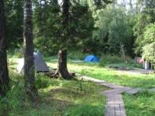 Campground - tents