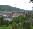 Trip to the dam - Krasnoyarsk Hydroelectric Power Station