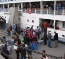 Yenisey river cruise - boarding!