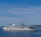 "Yenisey river cruise: meeting ""Valeriy Chkalov"" on the river"