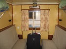 Yenisey river trip: first-class cabin